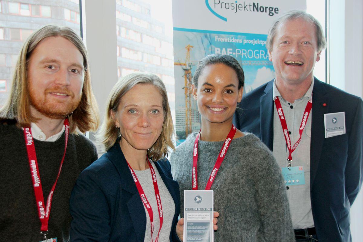 BAE-programmet på Byggedagene 2018. Foto: Svanhild Blakstad