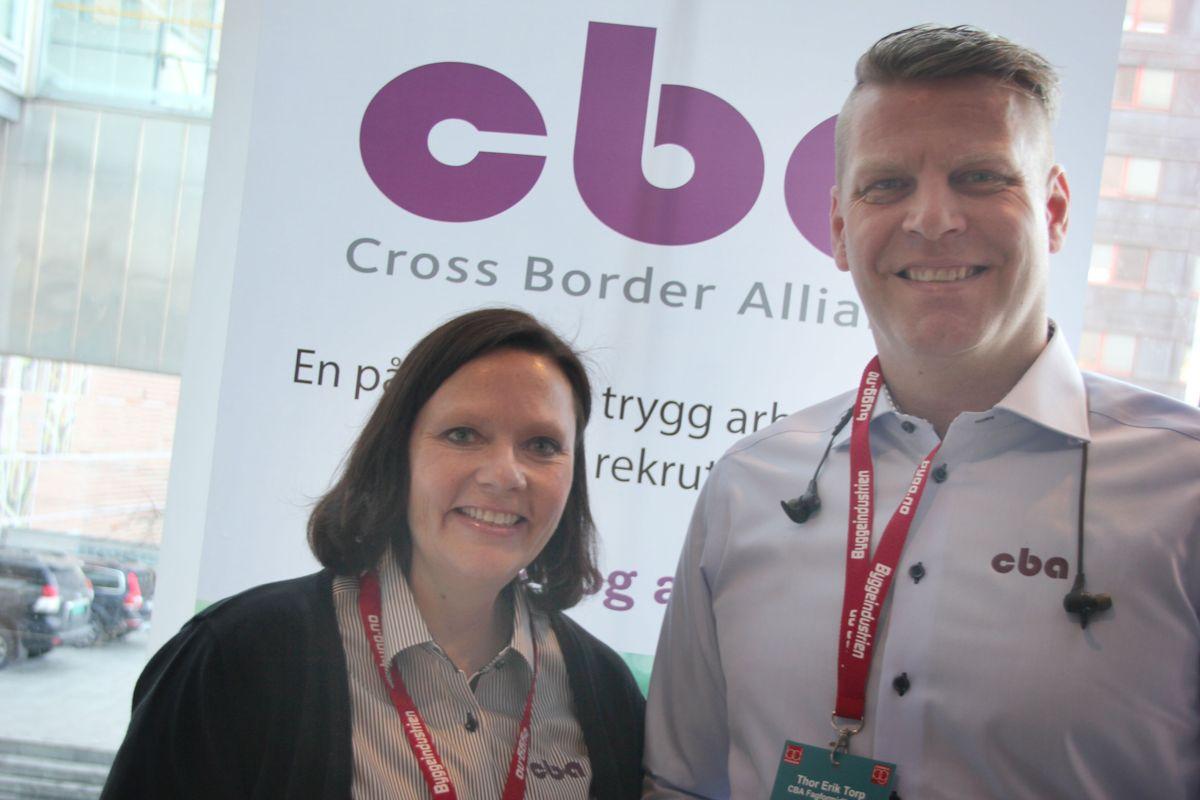 CBA på Byggedagene 2018. Foto: Svanhild Blakstad