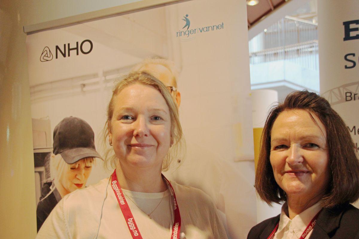NHOs Ringer i vannet på Byggedagene 2018. Foto: Svanhild Blakstad