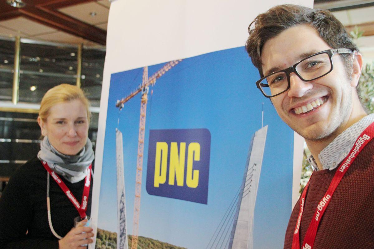 PNC på Byggedagene 2018. Foto: Svanhild Blakstad