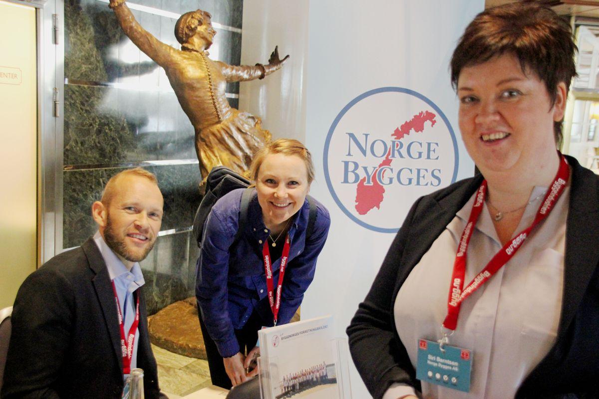 Norge Bygges på Byggedagene 2018. Foto: Svanhild Blakstad