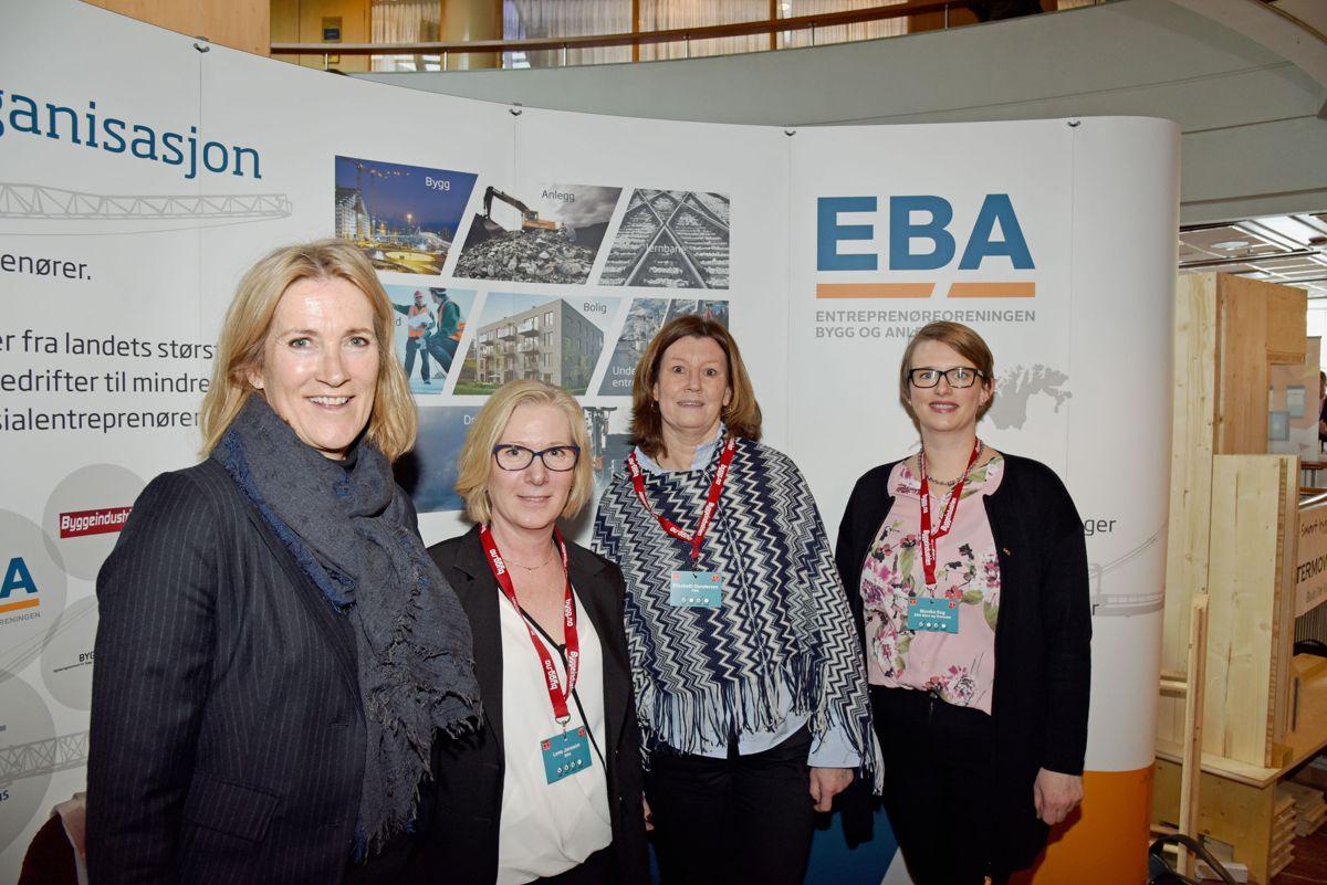 EBA på Byggedagene 2018. Foto: Trond Joelson