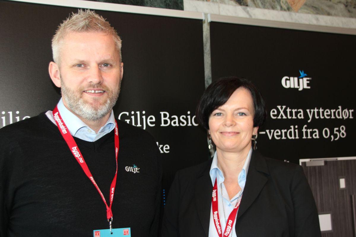 Gilje på Byggedagene 2018. Foto: Svanhild Blakstad