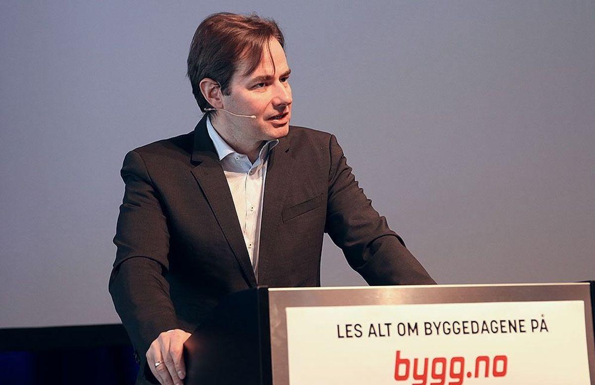 Statssekretær Lars Jacob Hiim i Kommunal- og moderniseringsdepartementet