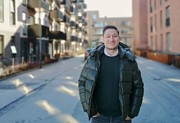Nicholas Klokholm, distriktssjef for Norden, Baltikum og Polen i Autodesk Construction Solutions. Foto: Autodesk Construction Solutions
