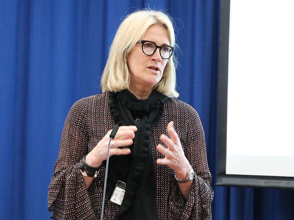 Kari Sandberg har ledet gruppen som har levert rapporten «Enkelt og presist – nødvendig kunnskap om bygg og eiendomsnæringens utvikling».