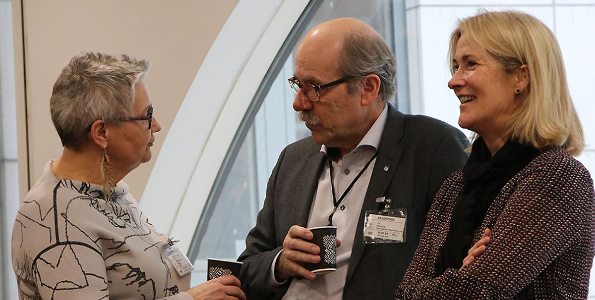 Hanne Rønneberg (f.v.), Morten Lie og Kari Sandberg.