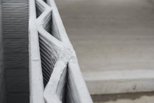 3D-printing kan gjøre hele verdikjeden for bygging digital, men utviklingen går for sakte, mener forskere. Illustrasjon: Shutterstock