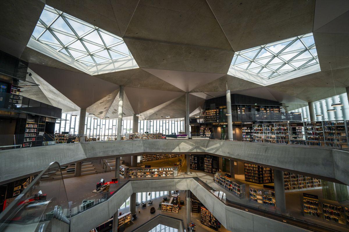 Deichman-biblioteket Bjørvika i Oslo. Foto: Håkon Mosvold Larsen / NTB