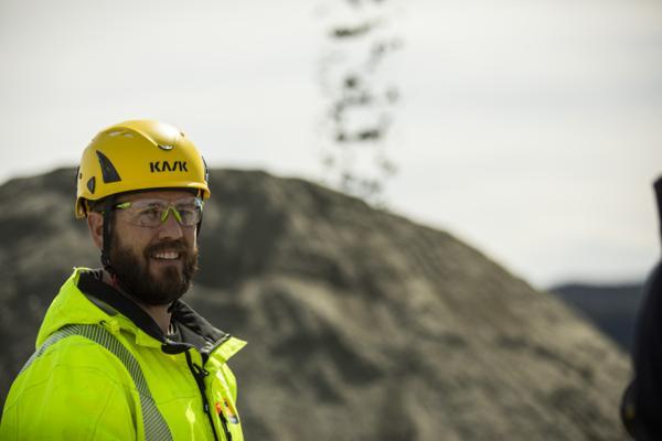 Avdelingsdirektør for miljøparkene i AF Gruppen, Magnus Stedenfeldt. Foto: AF Gruppen