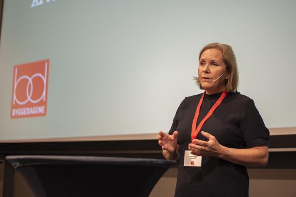 Administrerende direktør Grethe Bergly i Multiconsult. Foto: Sindre Sverdrup Strand