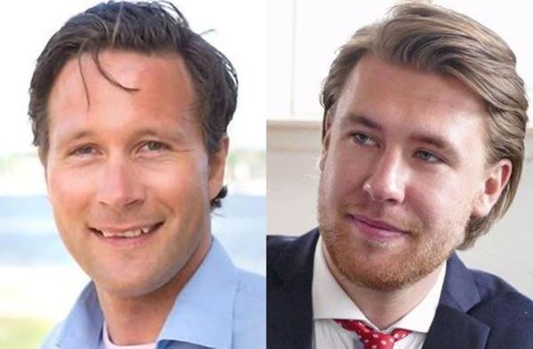 Nikolai Halle (til venstre) er ansatt som ny strategisk salgssjef, og Thomas Ingvaldsen som plattformleder for BIM i Cobuilder. Foto: Cobuilder
