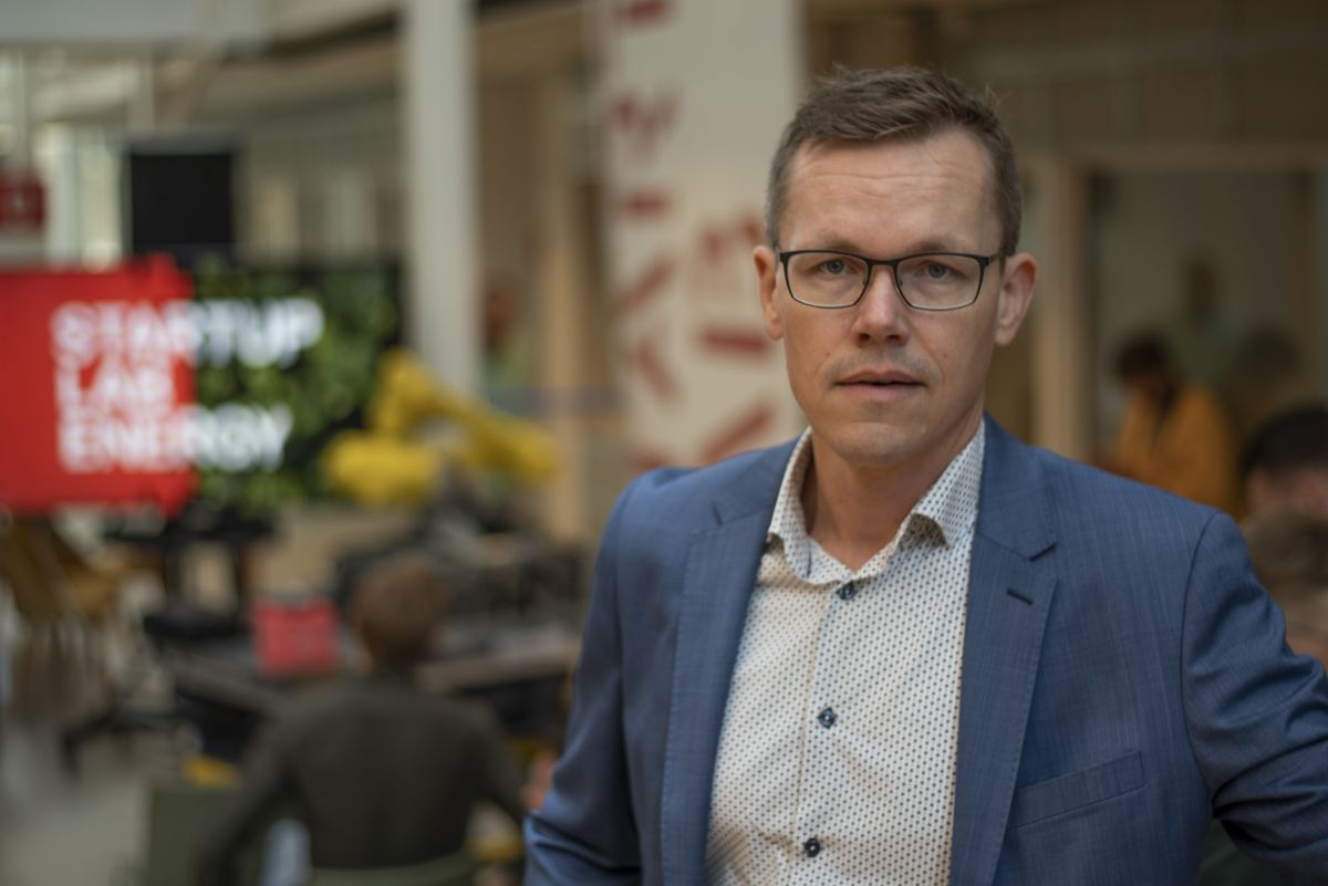 Konserndirektør for teknologi, innovasjon og grønn forretningsutvikling i Skanska, Jo Mortensen. Foto: Sindre Sverdrup Strand