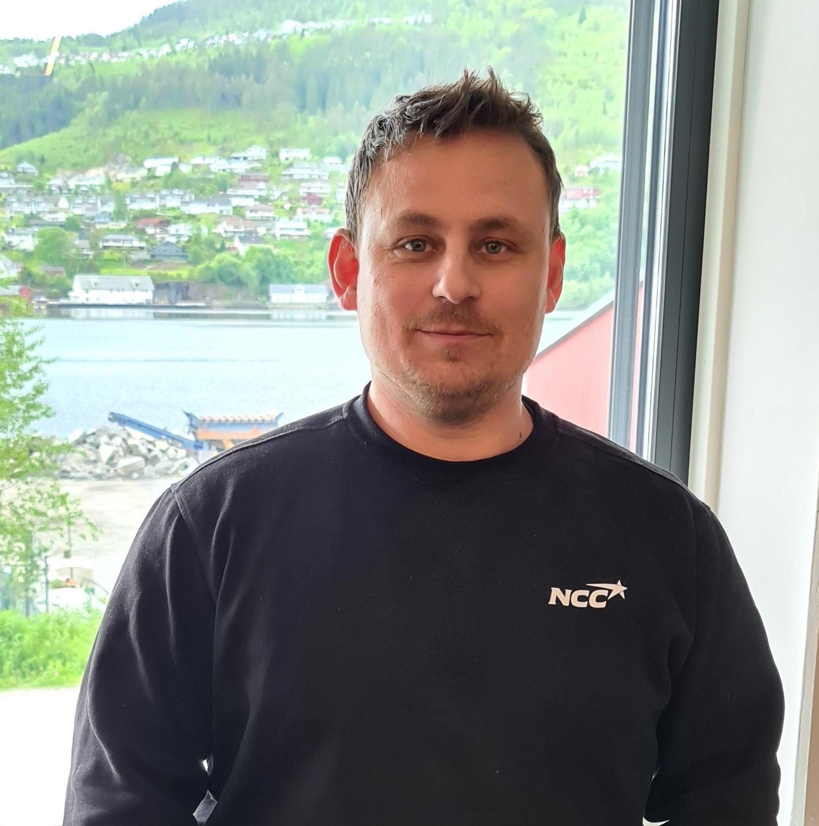 Distriktssjef Lasse Tefre. Foto: NCC