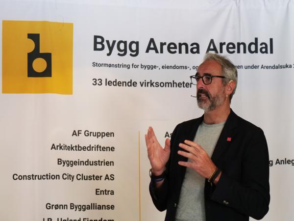 Olaf Thommessen under Arendalsuka. Foto: Tor-Hartvig Bondø / HRP