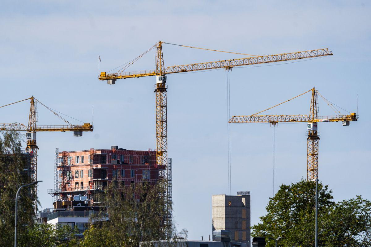 En bobleindikator anslår at boligprisene i Norge er 13 prosent for høye. Foto: Håkon Mosvold Larsen / NTB