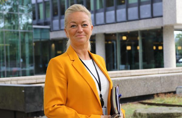 – Det skal lønne seg å operere grønt, sier direktør for næringspolitikk og kommunikasjon i EBA, Christine Holtan Bøgh.