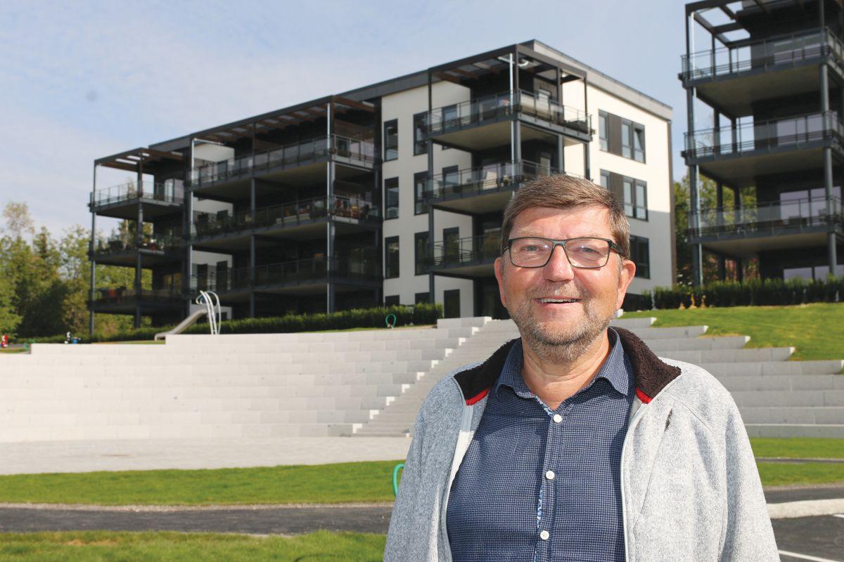 Prosjektleder Jan Høiby i Backe Oppland AS, er fornøyd med gjennomføringen av prosjektet.