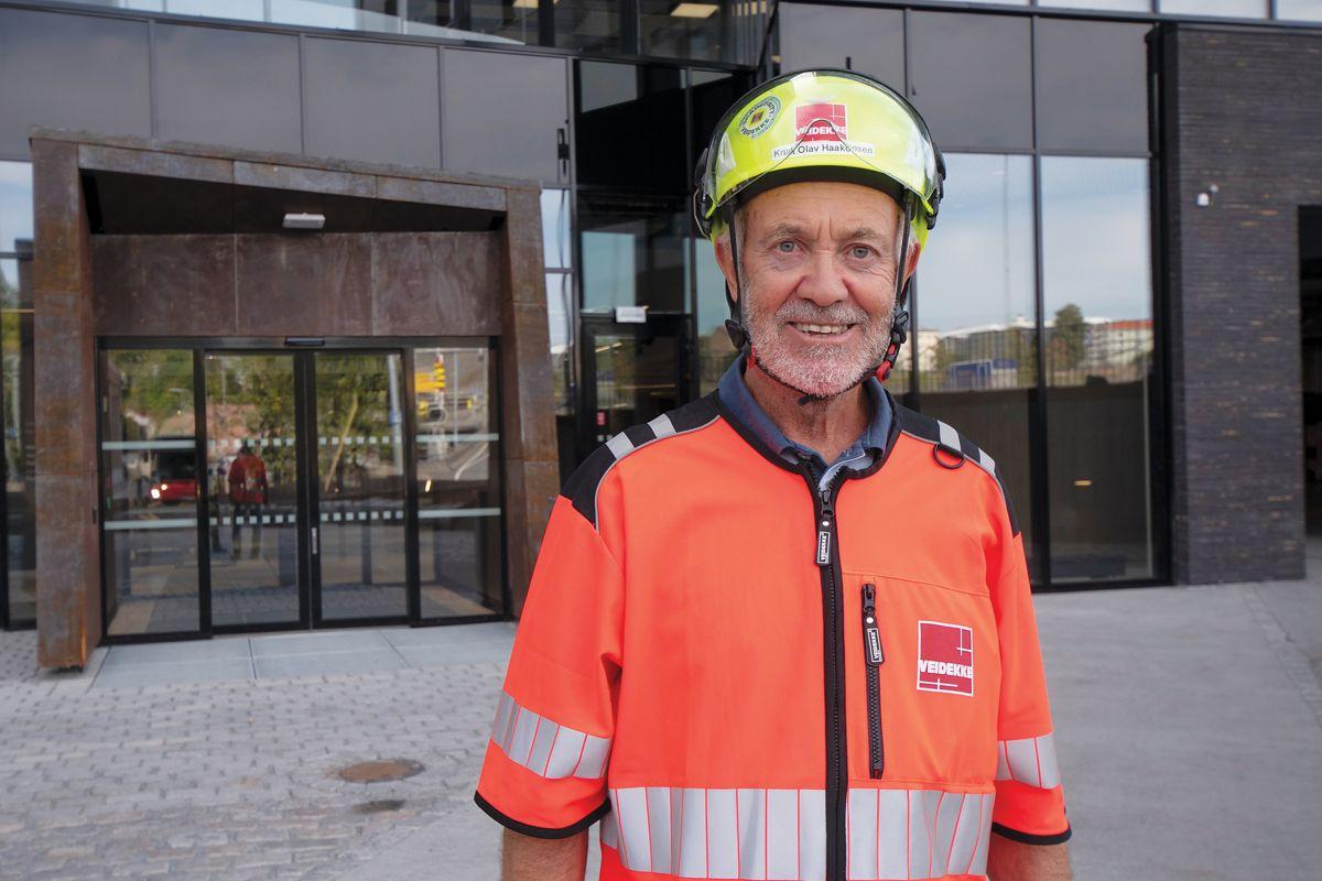 Prosjektleder Knut Olav Haakonsen er godt fornøyd med hva de har fått til på Oslo K.