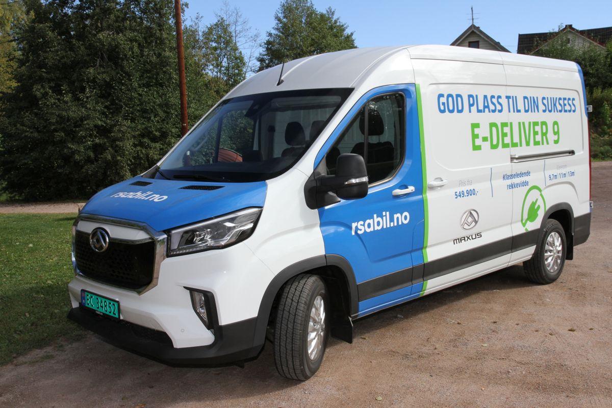Maxus E-Deliver 9 har hittil solgt godt i Norge.