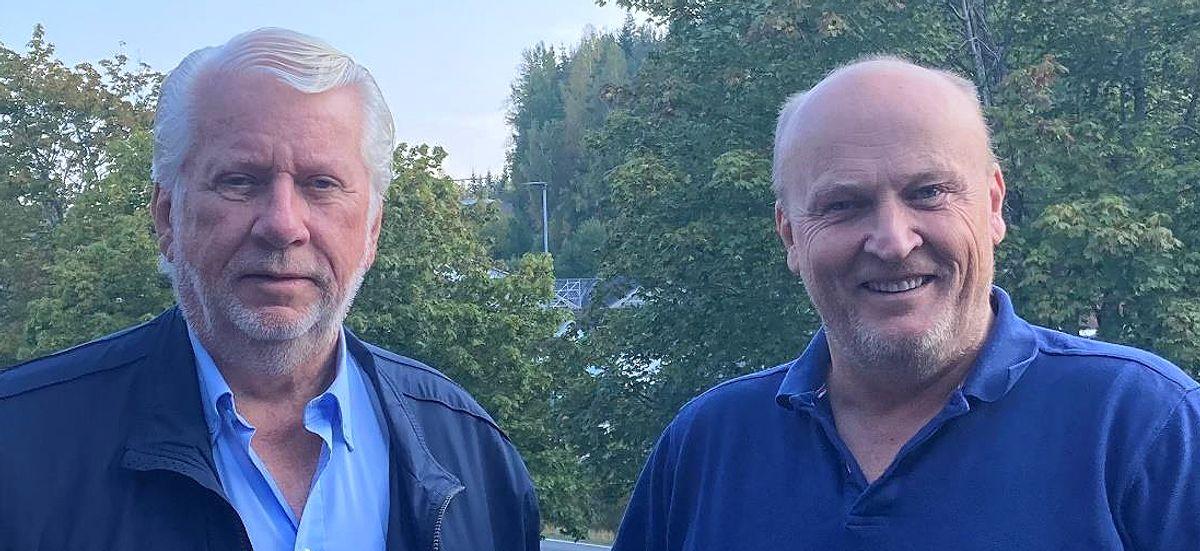 Sigmund Aabel (t.v.) og Ove Reinhardtsen. Foto: Scanflex