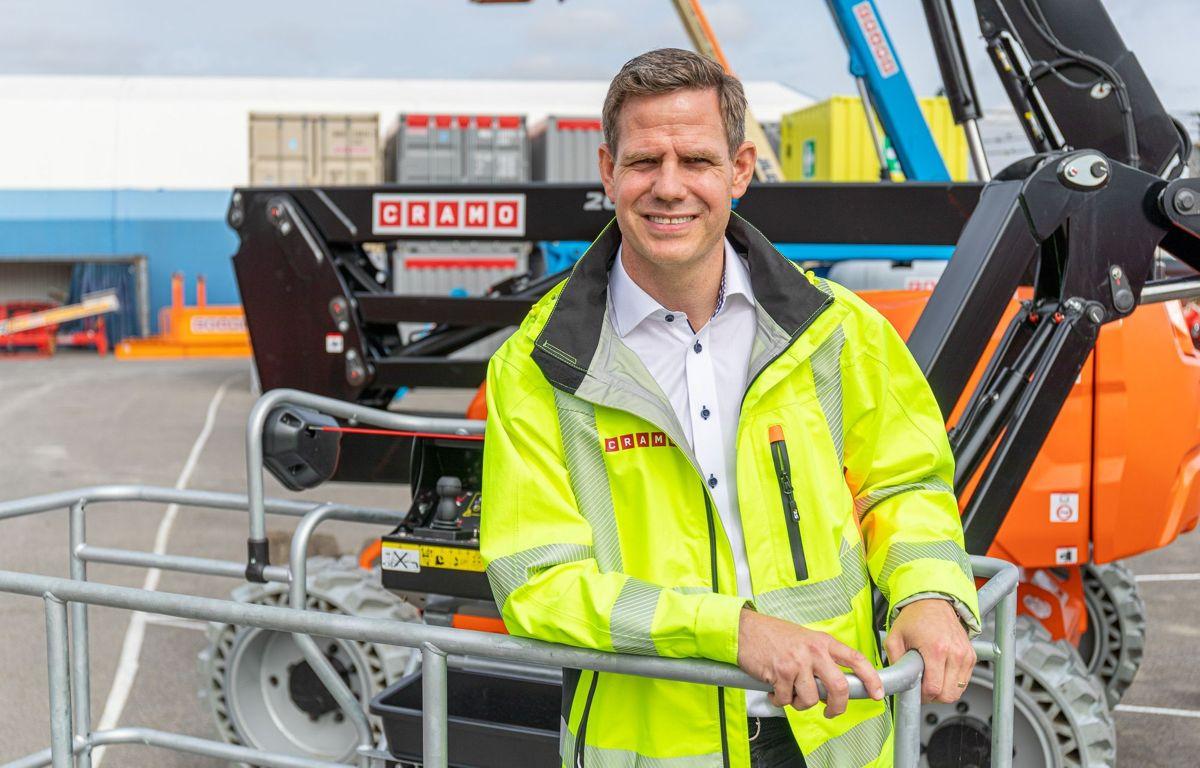 Administrerende direktør i Cramo Norge, Thomas Astrup.