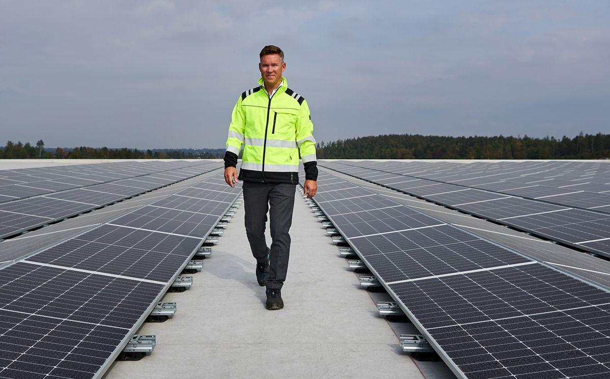 Lars Erik Holmen er nylig ansatt som daglig leder i Soleie. Foto: Eivind Røhne