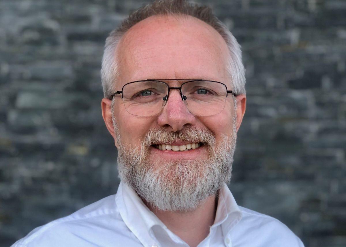 Martin Grønneberg Wold, leder for kundestøtte hos Norsk Gjenvinning. Foto: Norsk Gjenvinning
