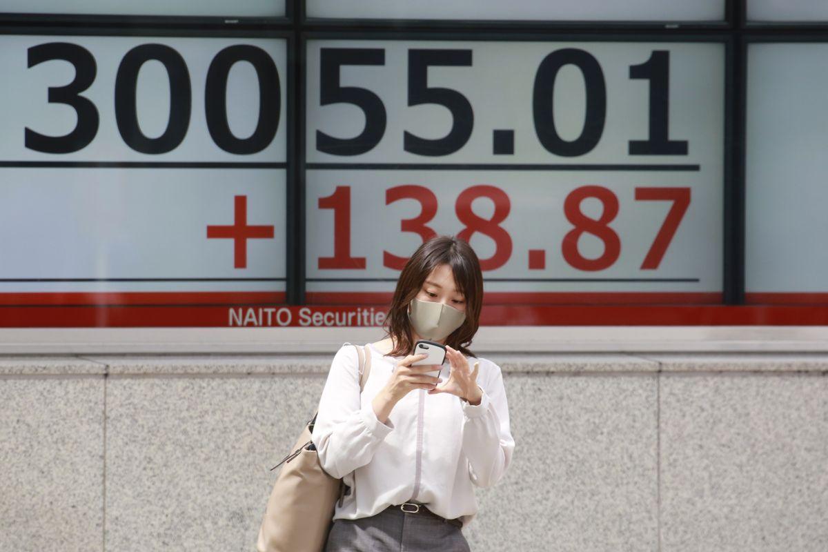 Tirsdag startet med børsnedgang i Tokyo. Illustrasjonsfoto: Koji Sasahara / AP / NTB