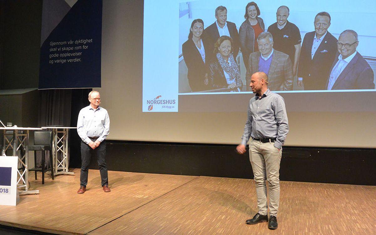 Også byggebransjen må forberede seg på endringer, og adm. dir. Sverre Tiltnes fra Bygg21, sammen med Jon Olav Sigvartsen fra Norgeshus JOS bygg snakket om morgendagens byggeprosesser.