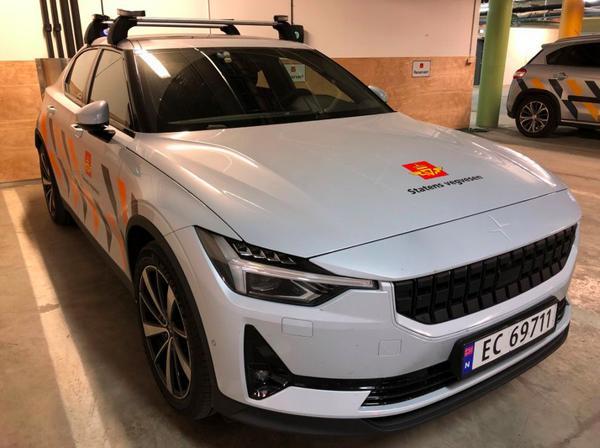 Detaljert informasjon fra biler som er ute og kjører kan gi bedre, tryggere og billigere veger. Foto: Statens vegvesen
