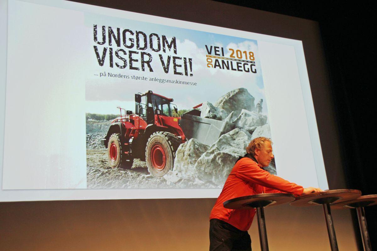 Fra Ungdomsdagen på Vei og Anlegg 2018. Foto: Svanhild Blakstad