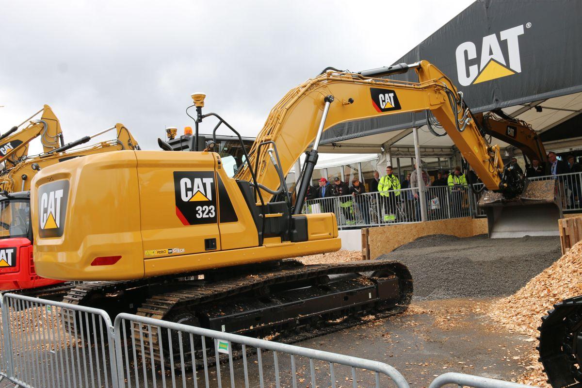 <p>Caterpillars nye gravemaskinserie Next-gen HEX blir vist frem for første gang under Vei og Anlegg.</p>