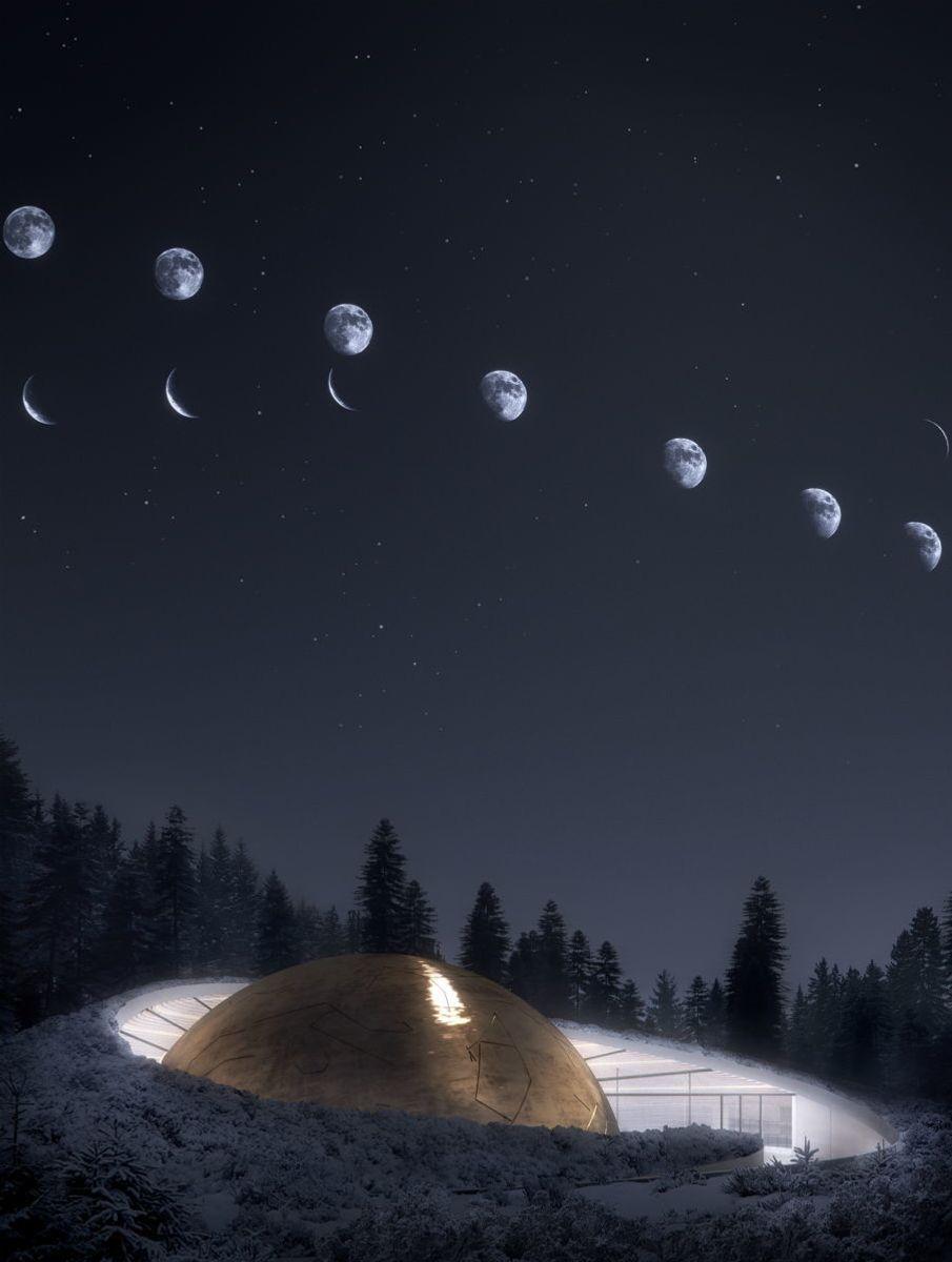 Illustrasjon: Snøhetta/Plompmozes