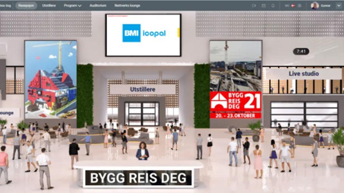 Bygg Reis Deg åpner sin digitale markedsplass. Illustrasjon: Bygg Reis Deg