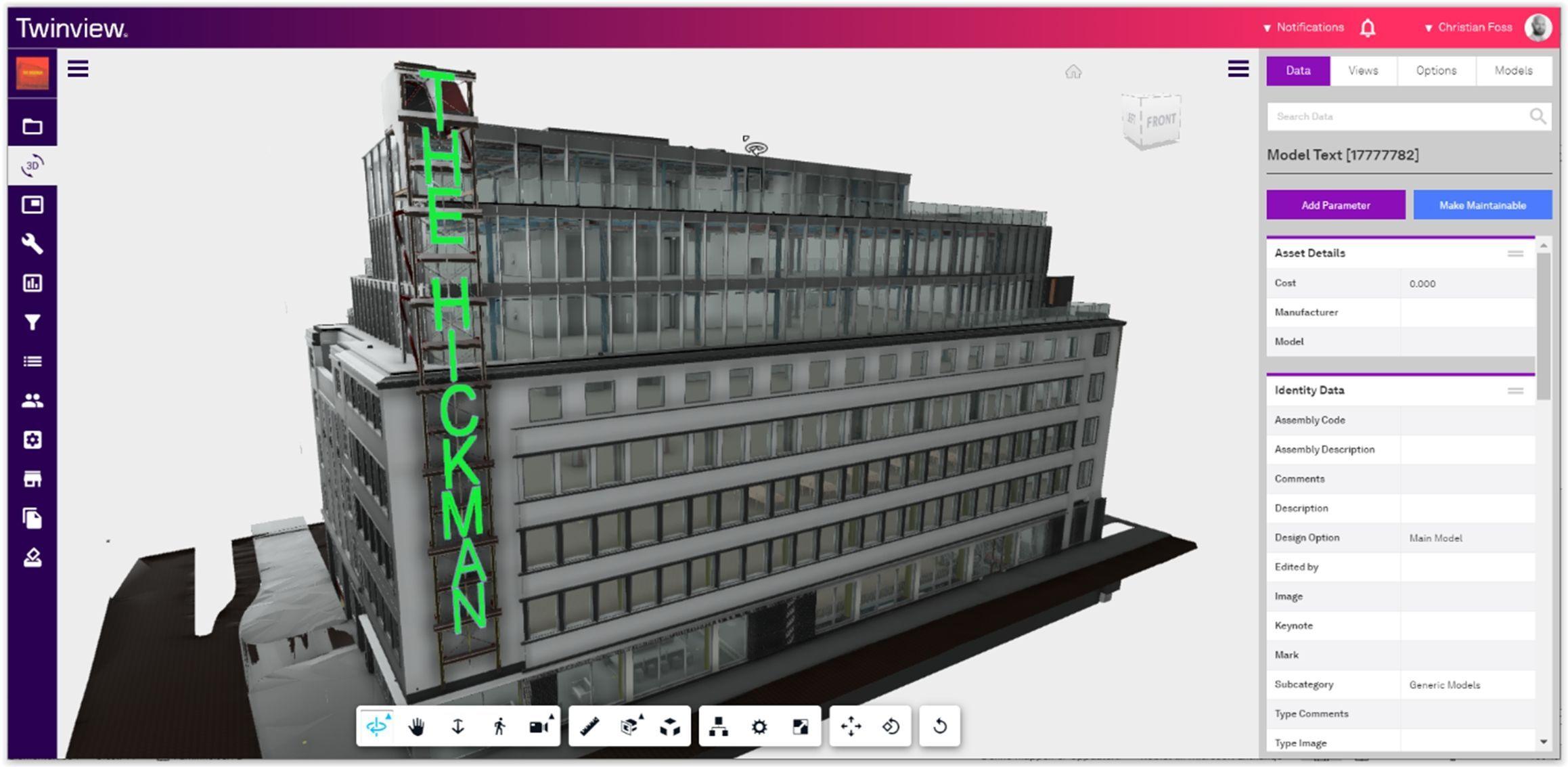 The Hickman building sett i Twinview, som nylig oppnådde Platinum-status fra SmartScore. Foto: Twinview