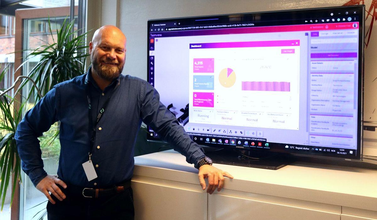 Christian Foss er produktansvarlig for Twinview i Graphisoft Norge / Nordic BIM Group. Foto: Graphisoft