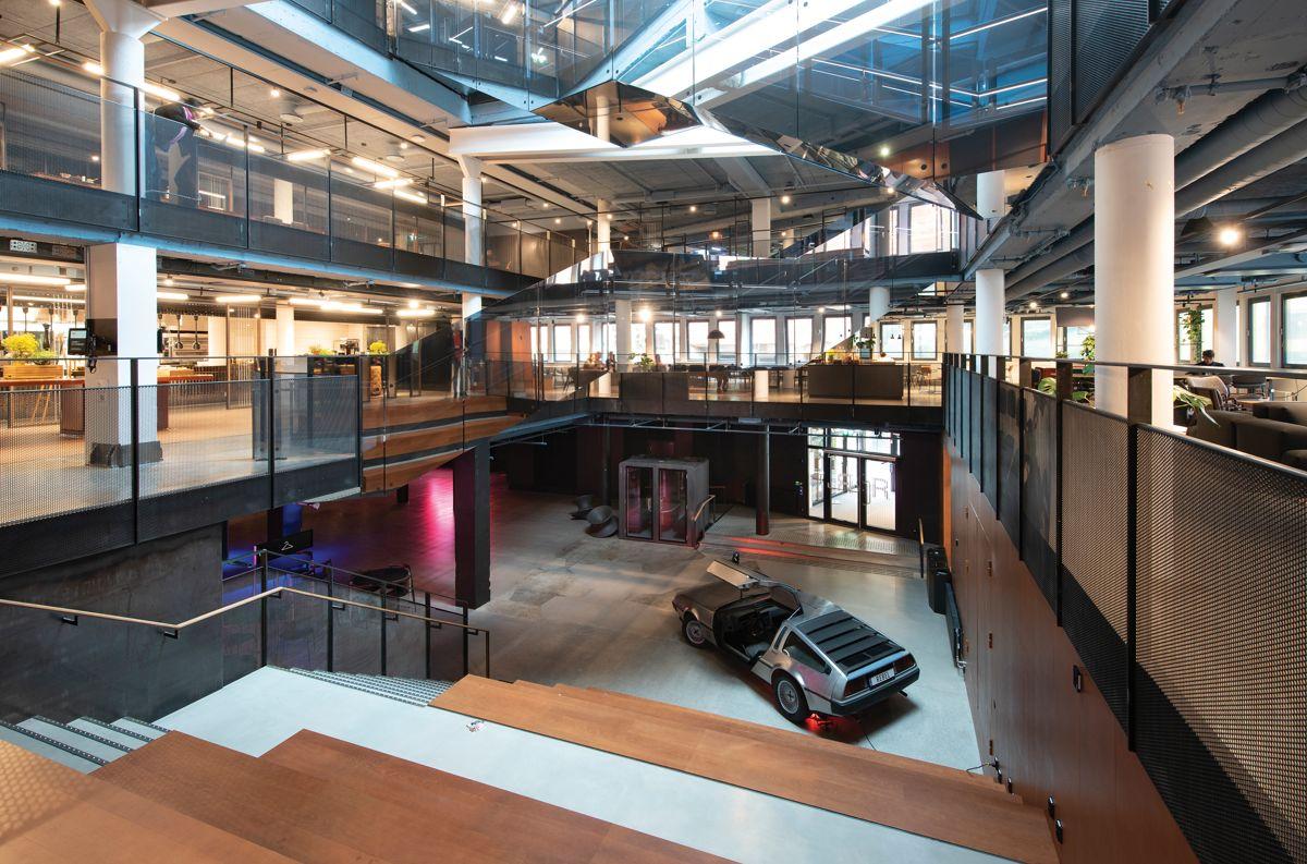 Universitetsgata 2 i Oslo, 1.10.2021. Foto: Trond Joelson, Byggeindustrien