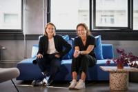 Martine Carlson (t.v.) og Irmelin Bergh. Foto: Jonas Driveklepp.