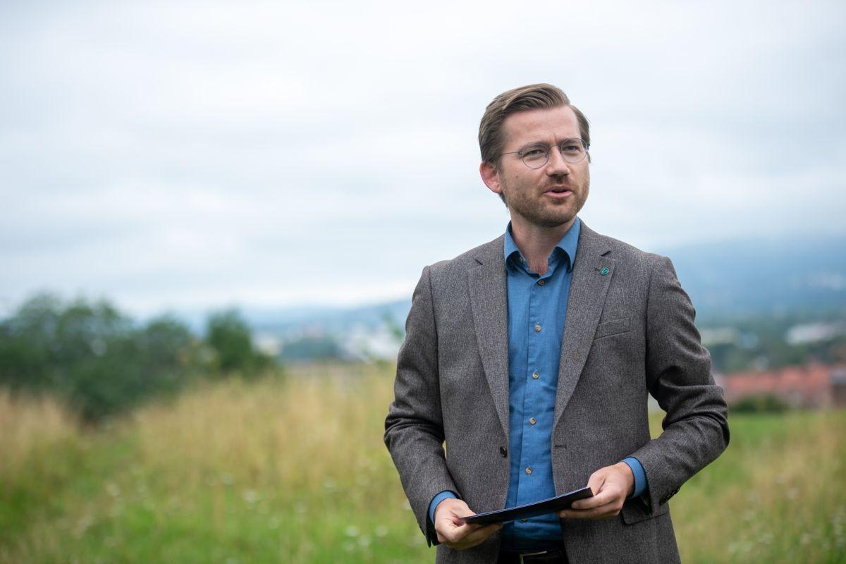 Klima- og miljøminister Sveinung Rotevatn (V). Foto: Annika Byrde / NTB
