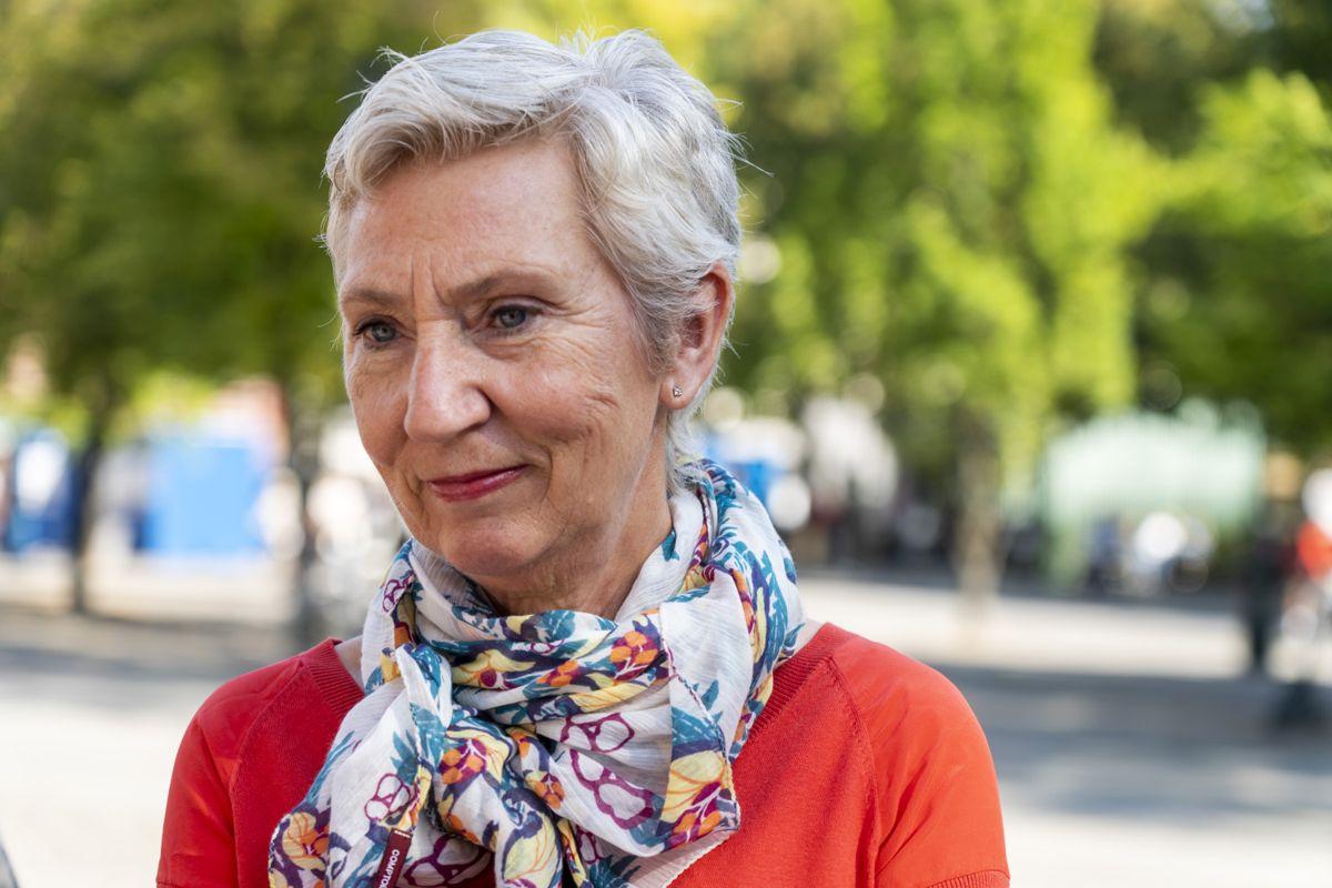 LO-leder Peggy Hessen Følsvik. Foto: Terje Pedersen / NTB