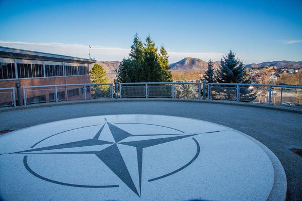 NATOs Joint Warfare Center (JWC) på Jåttå i Stavanger. Foto: JWC/NATO