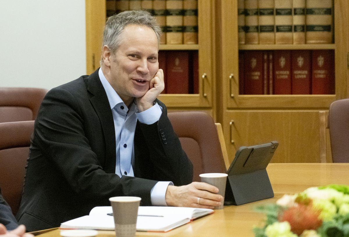 TV 2 melder at Jon-Ivar Nygård (Ap) blir samferdselsminister i den nye regjeringen. Foto: Fredrik Hagen / NTB