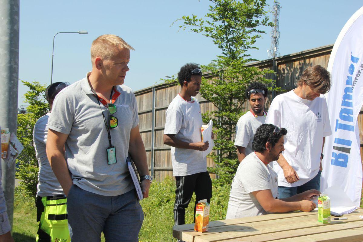 Rekrutteringsdager på Kuben yrkesarena. Foto: Svanhild Blakstad