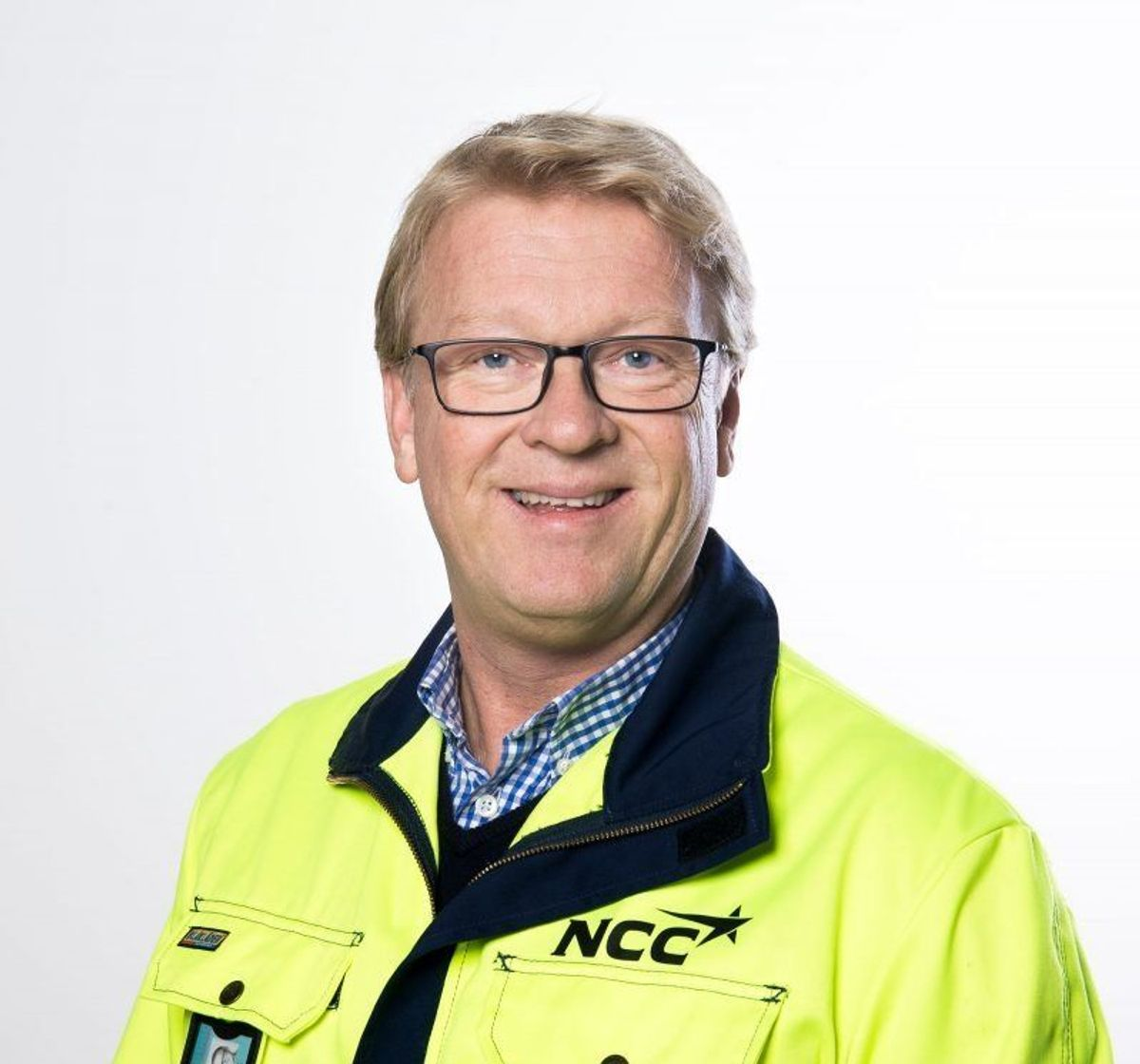 HMS-sjef i NCC Infrastructure, Morten Larsen. Foto: NCC