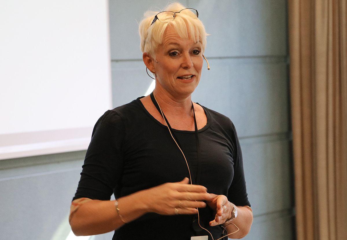 Heidi Finstad ledet seminaret.