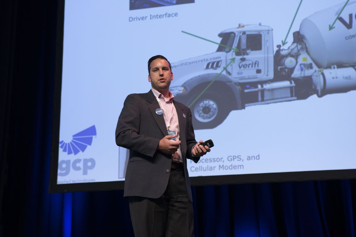 Matthew Nazarenko, GCP Applied Technologies. Foto: Tuva Skare