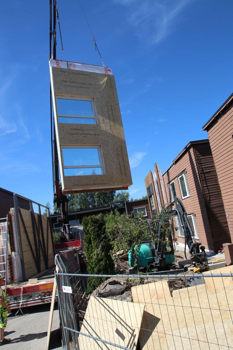 Byggemetoden skal kunne halvere byggetiden i prosjektet.