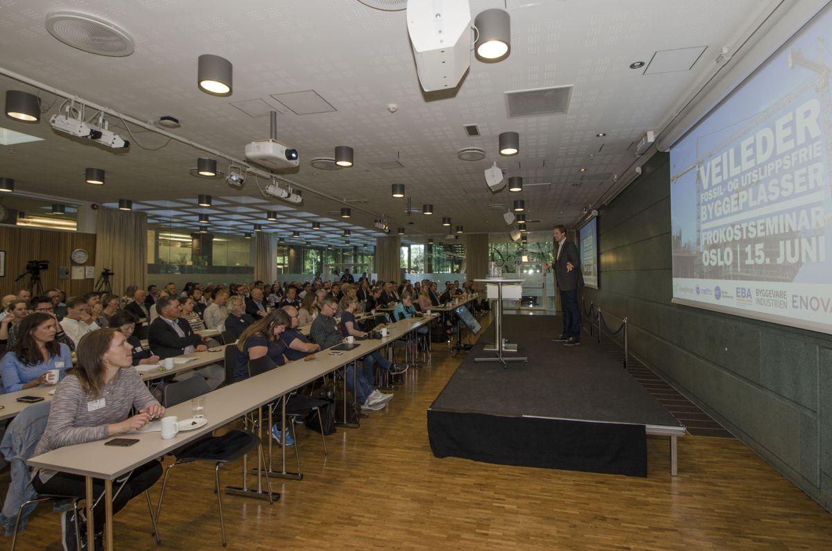 190 påmeldte deltok på lanseringen av den nye veilederen.