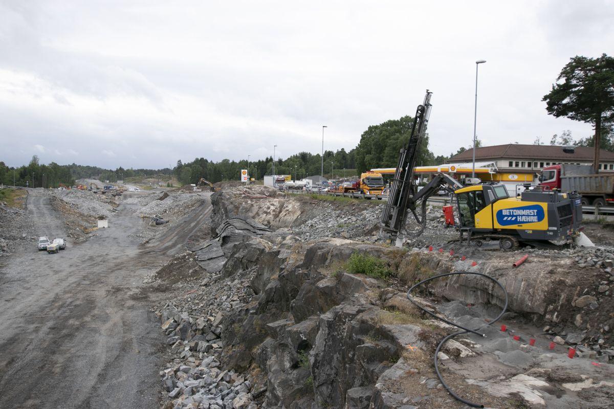 Nye Veier E18 Rugtvedt-Dørdal. Foto: Christian Aarhus